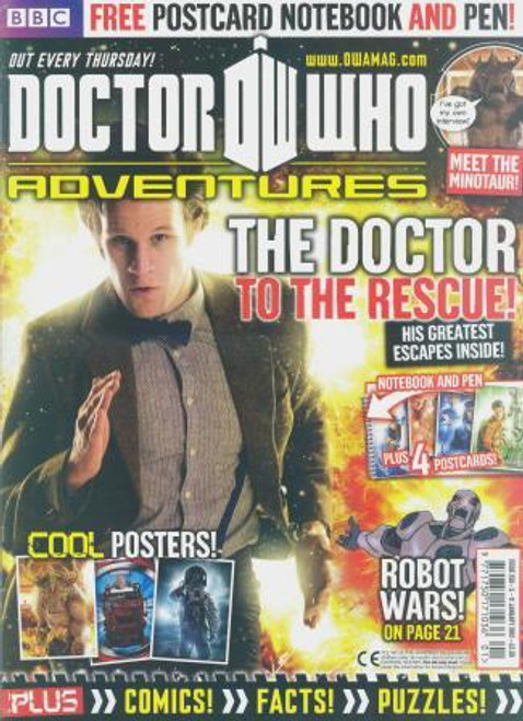 Doctor Who Adventures Magazine #250 - Plus FREE Gifts: