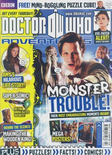 Doctor Who Adventures Magazine #251 - Plus FREE Gifts: