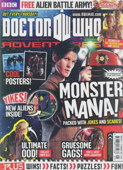 Doctor Who Adventures Magazine #254 - Plus FREE Gifts: Judoon & Ood Mini Figures