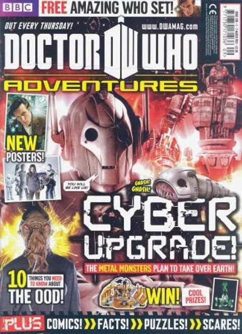 Doctor Who Adventures Magazine #258 - Plus FREE Gifts: