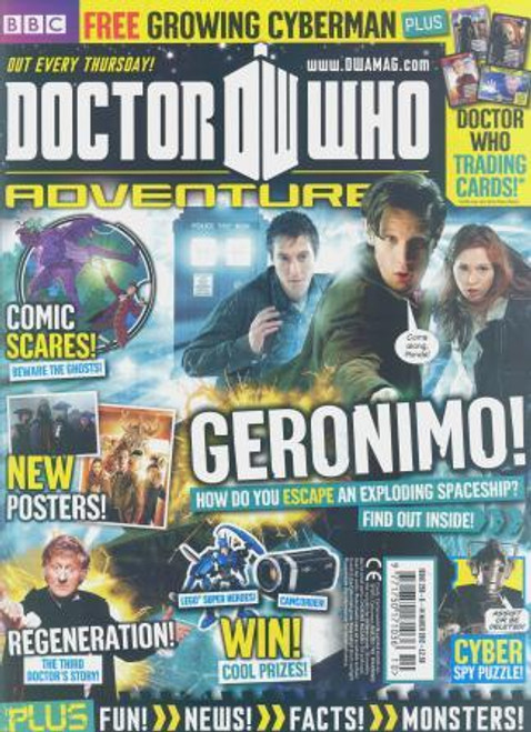 Doctor Who Adventures Magazine #259 - Plus FREE Gifts: