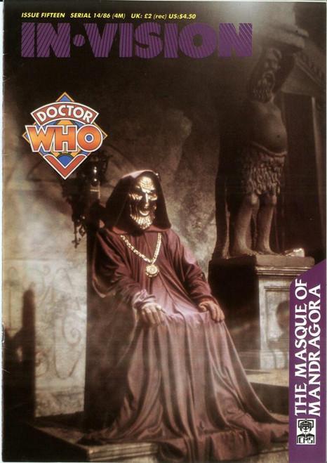 Doctor Who IN*VISION UK Imported Episode Magazine #15 - MASQUE OF MANDRAGORA