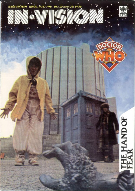 Doctor Who IN*VISION UK Imported Episode Magazine #16 - HAND OF FEAR