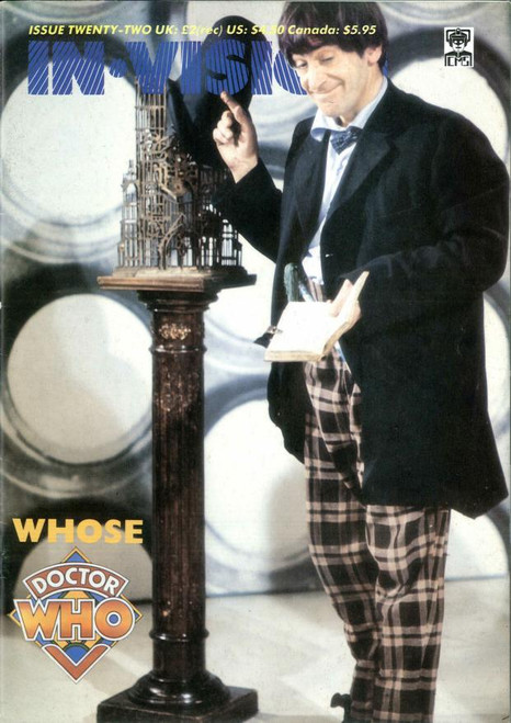 Doctor Who IN*VISION UK Imported Episode Magazine #22 - WHOSE DOCTOR WHO