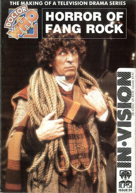 Doctor Who IN*VISION UK Imported Episode Magazine #24 - HORROR OF FANG ROCK