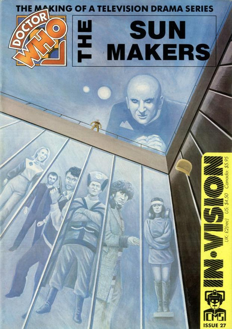 Doctor Who IN*VISION UK Imported Episode Magazine #27 - SUNMAKERS