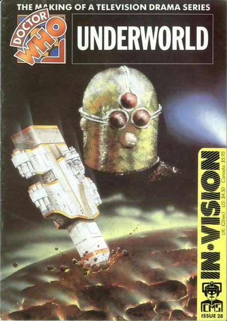 Doctor Who IN*VISION UK Imported Episode Magazine #28 - UNDERWORLD