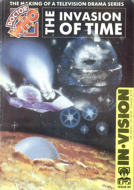 Doctor Who IN*VISION UK Imported Episode Magazine #29 - INVASION OF TIME