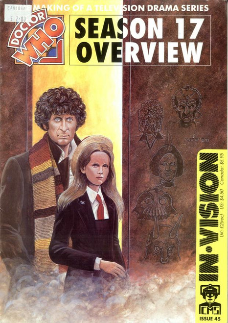 Doctor Who IN*VISION UK Imported Episode Magazine #45 - Season 17 Overview