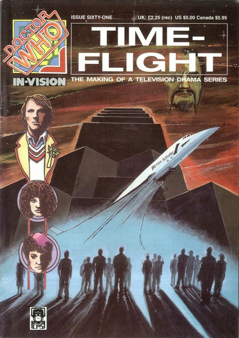 Doctor Who IN*VISION UK Imported Episode Magazine #61 - TIME - FLIGHT