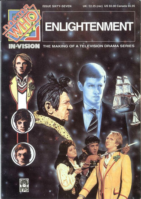 Doctor Who IN*VISION UK Imported Episode Magazine #67 - ENLIGHTENMENT