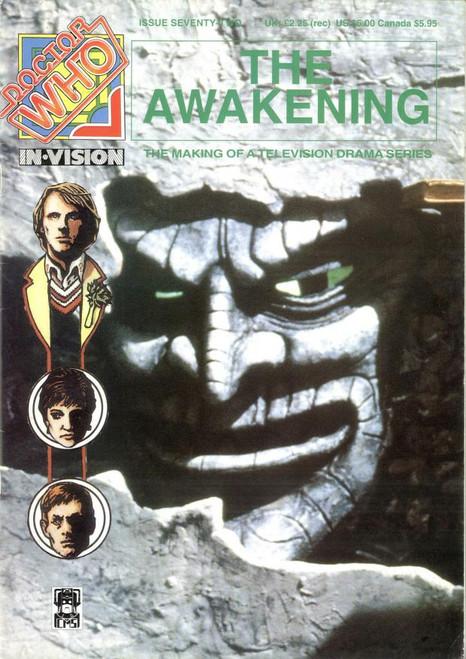 Doctor Who IN*VISION UK Imported Episode Magazine #72 - AWAKENING