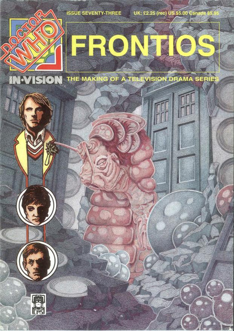Doctor Who IN*VISION UK Imported Episode Magazine #73 - FRONTIOS