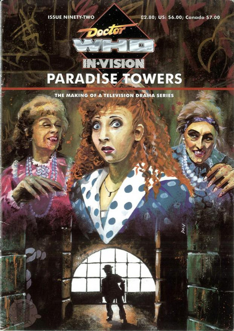 Doctor Who IN*VISION UK Imported Episode Magazine #92 - PARADISE TOWERS