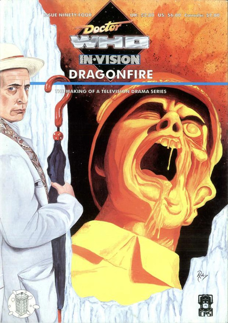 Doctor Who IN*VISION UK Imported Episode Magazine #94 - DRAGONFIRE