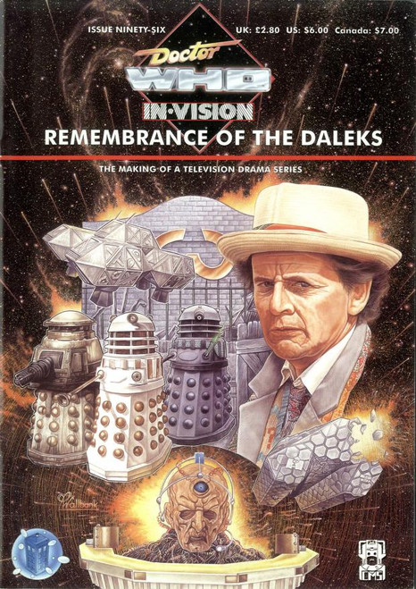 Doctor Who IN*VISION UK Imported Episode Magazine #96 - REMEMBRANCE OF THE DALEKS