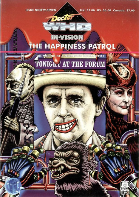Doctor Who IN*VISION UK Imported Episode Magazine #97 - HAPPINESS PATROL