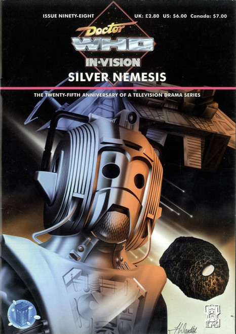 Doctor Who IN*VISION UK Imported Episode Magazine #98 - SILVER NEMESIS