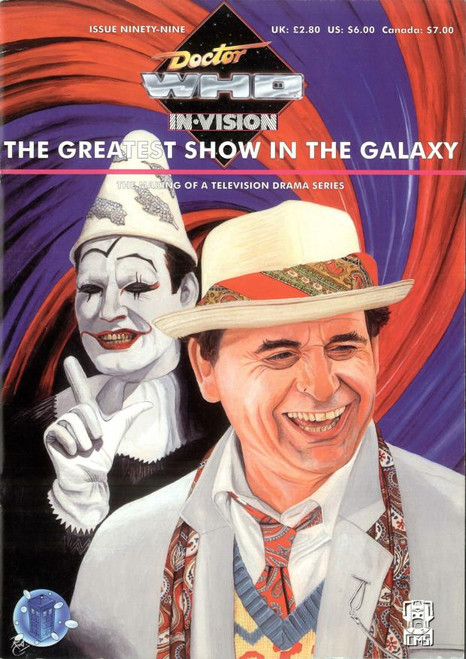 Doctor Who IN*VISION UK Imported Episode Magazine #99 - GREATEST SHOW IN THE GALAXY