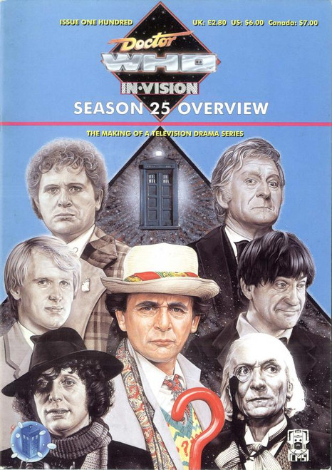 Doctor Who IN*VISION UK Imported Episode Magazine #100 - Season 25 Overview