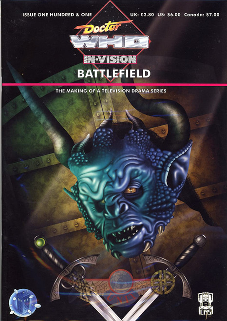 Doctor Who IN*VISION UK Imported Episode Magazine #101 - BATTLEFIELD