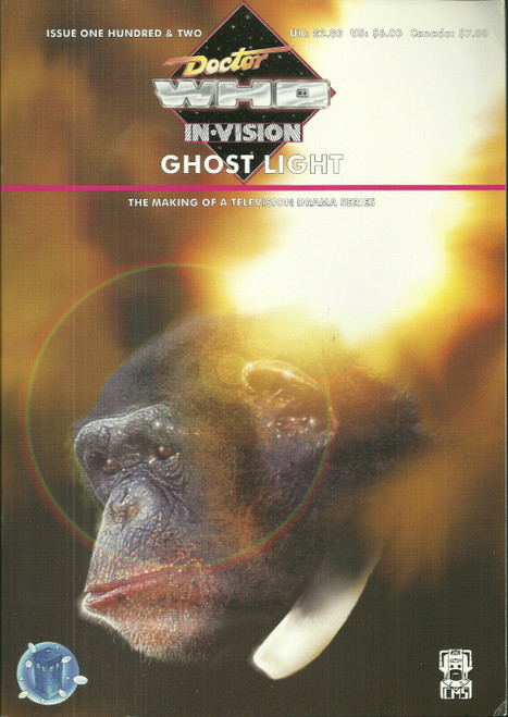 Doctor Who IN*VISION UK Imported Episode Magazine #102 - GHOSTLIGHT
