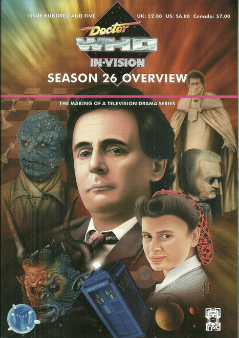Doctor Who IN*VISION UK Imported Episode Magazine #105 - Season 26 Overview