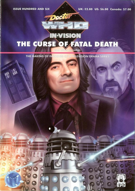 Doctor Who IN*VISION UK Imported Episode Magazine #106 - CURSE OF FATAL DEATH