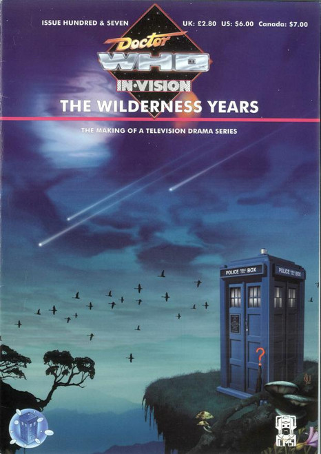 Doctor Who IN*VISION UK Imported Episode Magazine #107 - The WILDERNESS YEARS