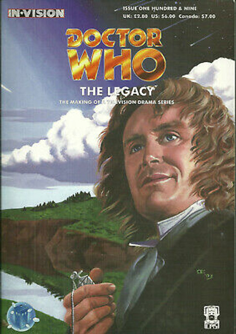 Doctor Who IN*VISION UK Imported Episode Magazine #109 - THE LEGACY