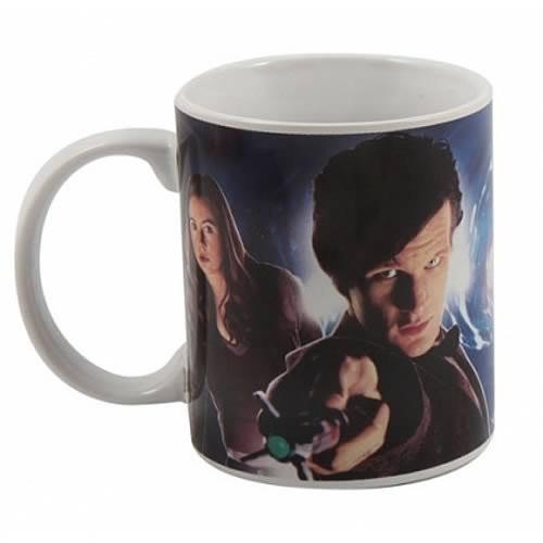 Doctor Who: 11th Doctor & Amy Pond 11oz. Ceramic Mug