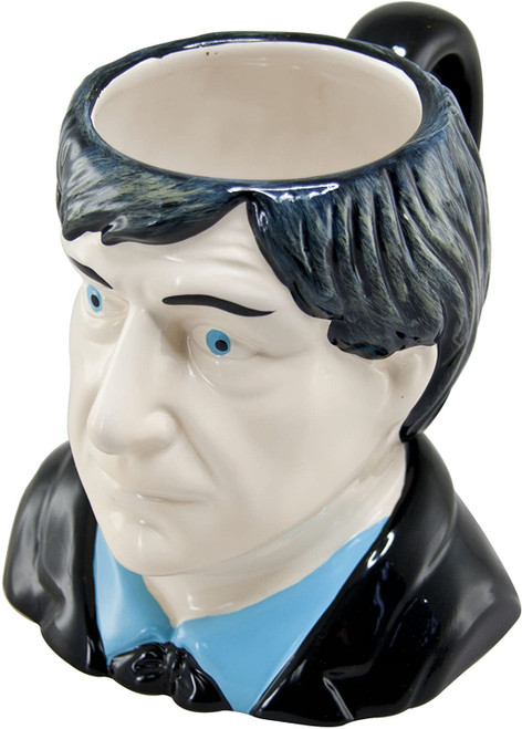 Doctor Who: Ceramic Figural 3D Mug - Second Doctor (Patrick Troughton)