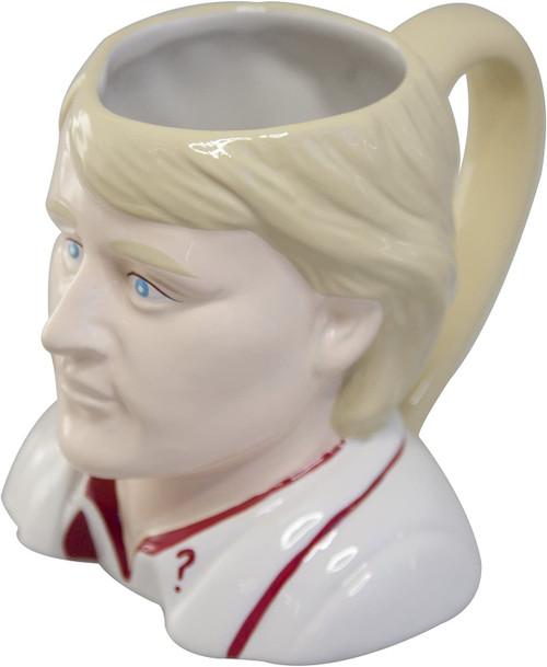 Doctor Who: Ceramic Figural 3D Mug - Fifth Doctor (Peter Davison)