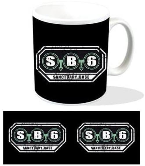 Doctor Who: SANCTUARY BASE 6  (SB6) - UK Exclusive Ceramic Mug by Titan Merchandising