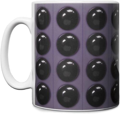 "Doctor Who: DALEK ""Bumps"" - UK Exclusive Ceramic Mug by Titan Merchandising"