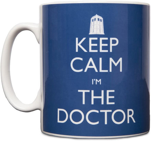 Doctor Who: KEEP CALM I'M THE DOCTOR - UK Exclusive Ceramic Mug by Titan Merchandising