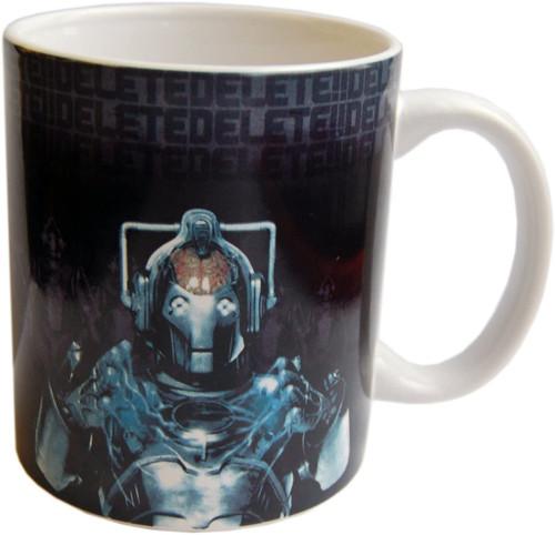Doctor Who: CYBERMEN Delete New Series 11oz. Ceramic Mug