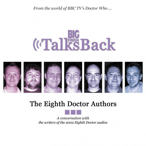 Big Finish Talks Back: The Eighth Doctor Authors CD (rare 2002 release)