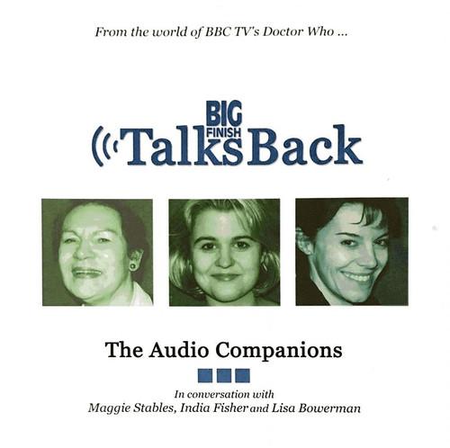 Big Finish Talks Back: The Audio Companions CD (rare 2001 release)