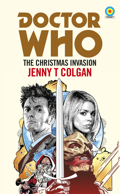 Doctor Who: CHRISTMAS INVASION - TARGET Collection Series Paperback Book