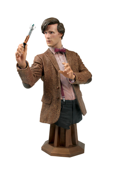 Doctor Who Masterpiece Titan Bust Collection - 11th Doctor - Matt Smith (Burgundy Variant)