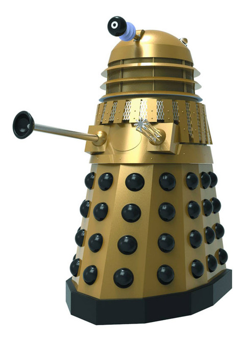 Doctor Who Masterpiece Titan Bust Collection - GOLD DALEK from Day of the Daleks