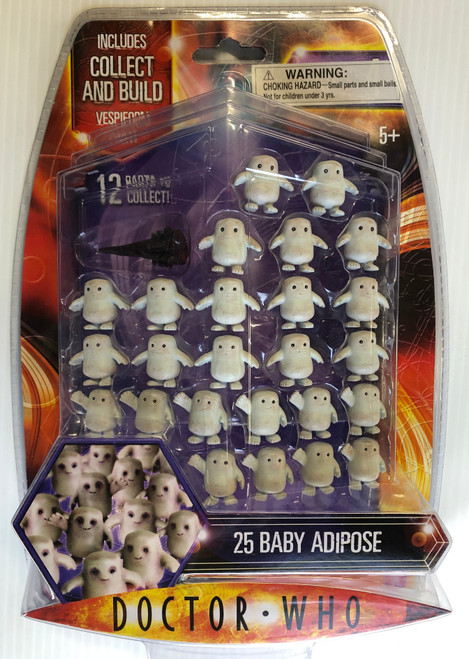 Doctor Who VESPIFORM Build-A-Figure:  25 ADIPOSE - Character Options Action Figure