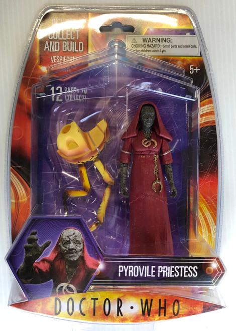 Doctor Who VESPIFORM Build-A-Figure:  PYROVILE PRIESTESS - Character Options Action Figure