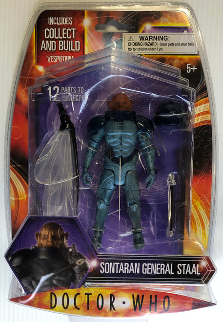 Doctor Who VESPIFORM Build-A-Figure:  SONTARAN GENERAL SKORR - Character Options Action Figure