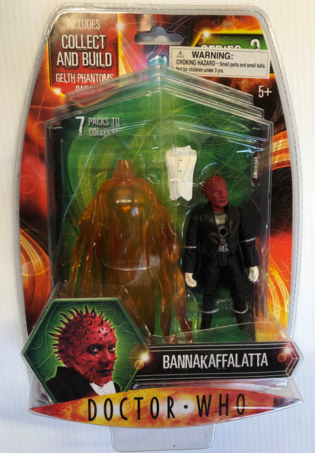 Doctor Who GELTH PHANTOM Build-A-Figure:  BANNAKAFFALATTA - Character Options Action Figure