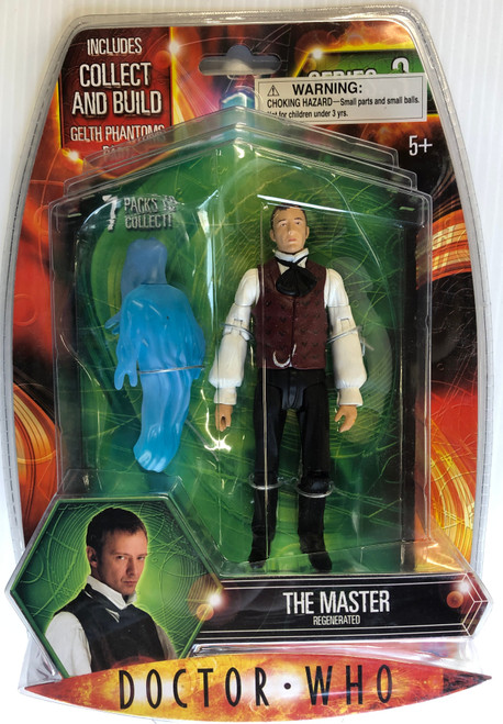 Doctor Who GELTH PHANTOM Build-A-Figure:  REGENERATED MASTER - Character Options Action Figure