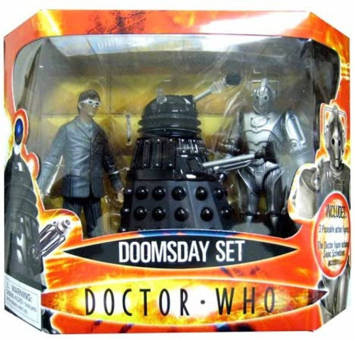 Doctor Who: DOOMSDAY - New Series Action Figure Set (Original First release packaging) - Character Options