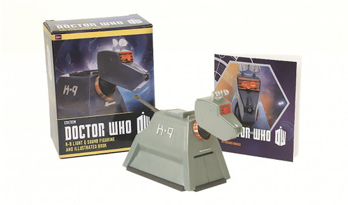 Doctor Who K9 with Light & Sound Mini Bust and Illustrated Mini Book from Running Press by Richard Dinnick