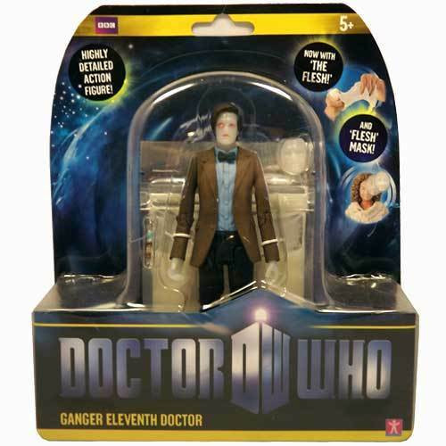 """Doctor Who New Series - GANGER 11th DOCTOR """"Flesh series"""" - Series 6 Action Figure - Character Options"""